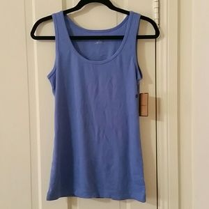 NWT Bass blue tank top size Large